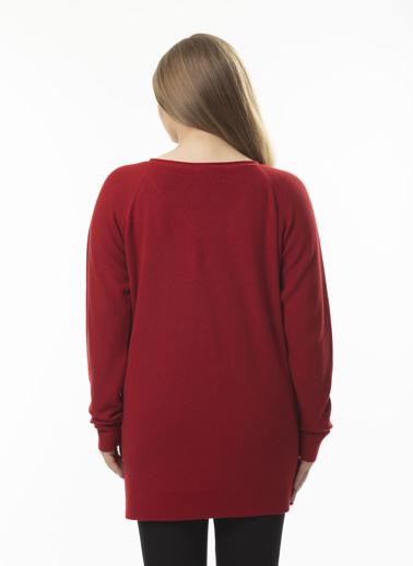 Stamina Büyük Beden Tunik Kırmızı